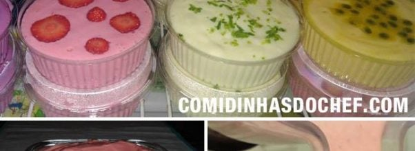 Mousse De 3 Ingredientes